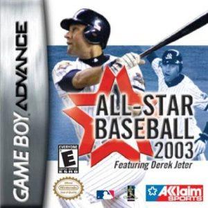 ALL STAR BASEBALL 2003 [E] GBA