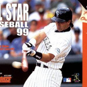 All Star Baseball 99 N64  N64