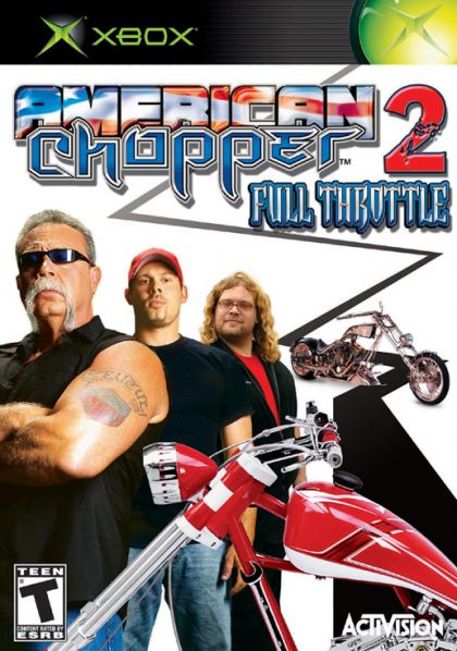American Chopper 2: Full Throttle  XBX