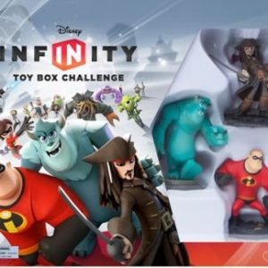 DISNEY INFINITY TOY BOX CHALLENGE 3DS [E