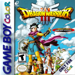 Dragon Warrior III - GameBoy Color  GBC