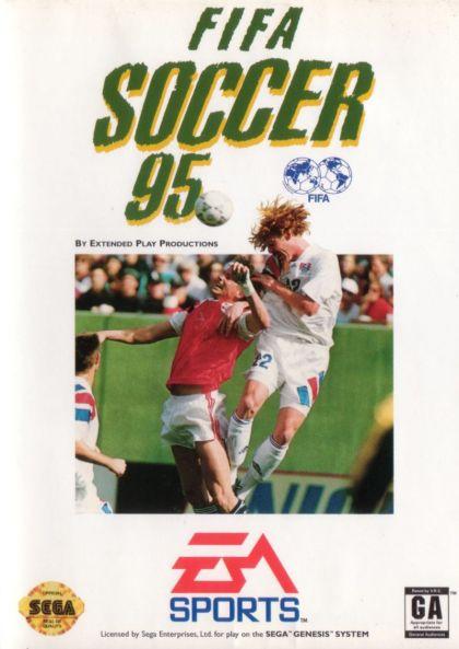 FIFA Soccer '95 - Sega Genesis