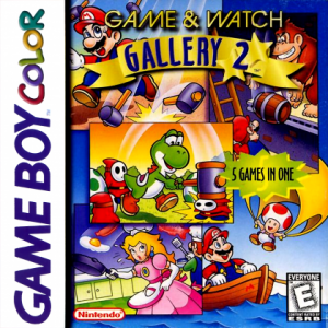 Game & Watch Gallery 2 GBY