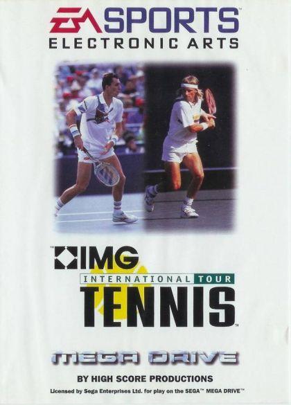 IMG International Tennis - Sega Genesis