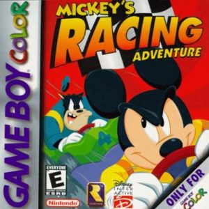 MICKEY'S RACING ADVENTURE GBC