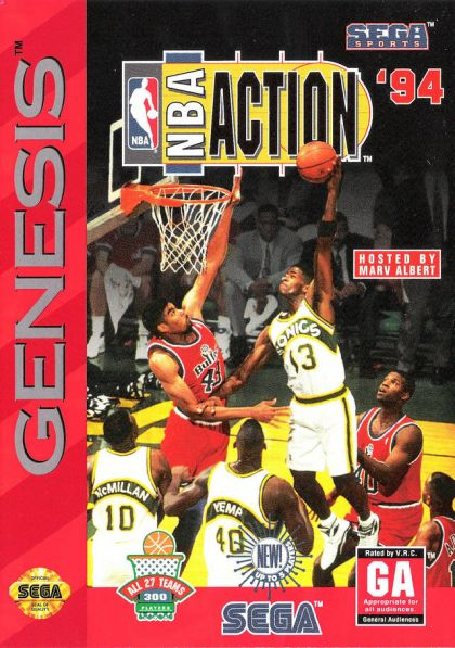 NBA Action '94 - Sega Genesis  GEN