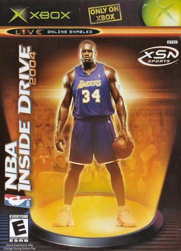 NBA INSIDE DRIVE 2004 [E] XBX