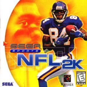 NFL 2K - Sega Dreamcast  DRE