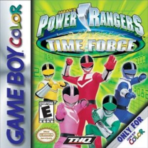 POWER RANGERS TIME FORCE [E] GBY