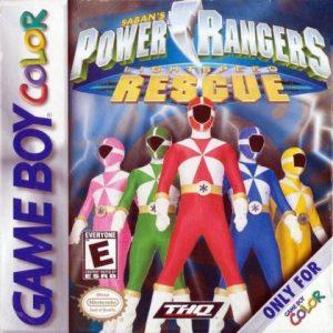 Power Rangers Lightspeed Rescue GBC
