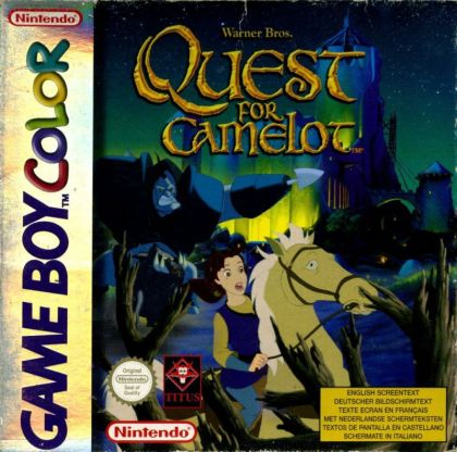 Quest For Camelot  GBC