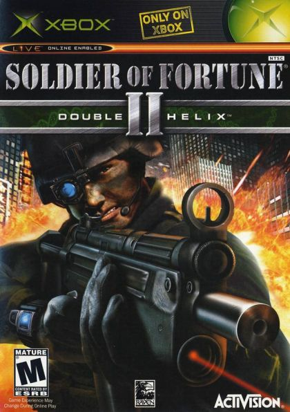SOLDIER OF FORTUNE II: DOUBLE XBX