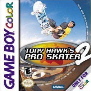 TONY HAWK'S PRO SKATER 2 GBC