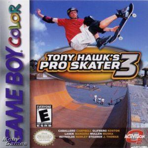 TONY HAWK'S PRO SKATER 3 GBC