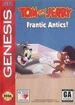 Tom & Jerry 2: Frantic Antics - Sega Genesis
