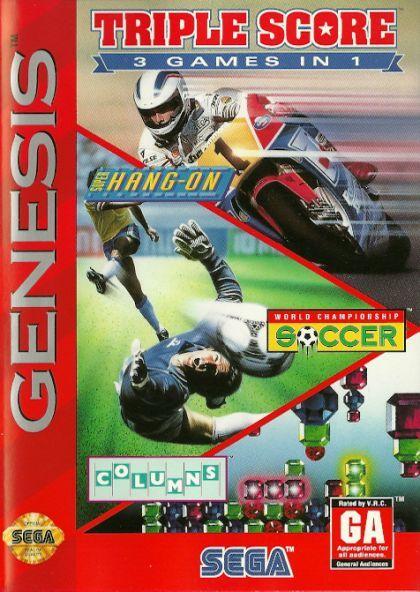 Triple Score - Sega Genesis  GEN