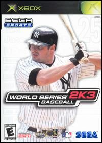 WORLD SERIES BASEBALL 2K3 [E] XBX