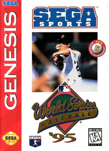 WORLD SERIES BASEBALL 95 GEN