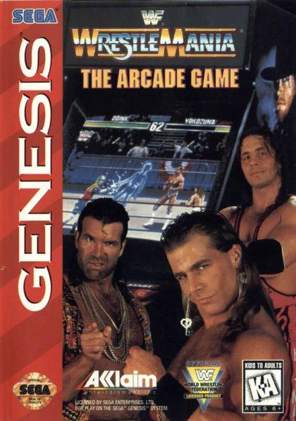 WWF Wrestlemania Arcade GEN