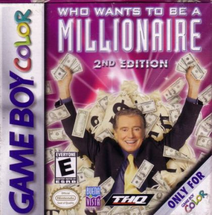 Who Wants to Be a Millionaire - Game Boy Color  GBC