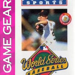 World Series Baseball '95 (Sega Game Gear)