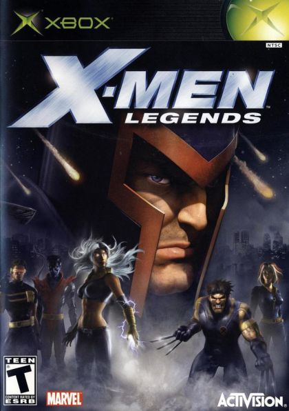 X-MEN LEGENDS XBX