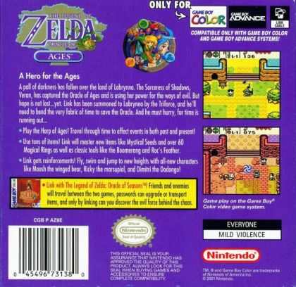 ZELDA: ORACLE OF Ages